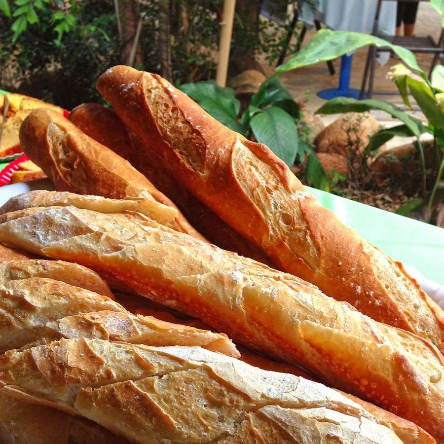 Pães artesanais do Vila Paraíso
