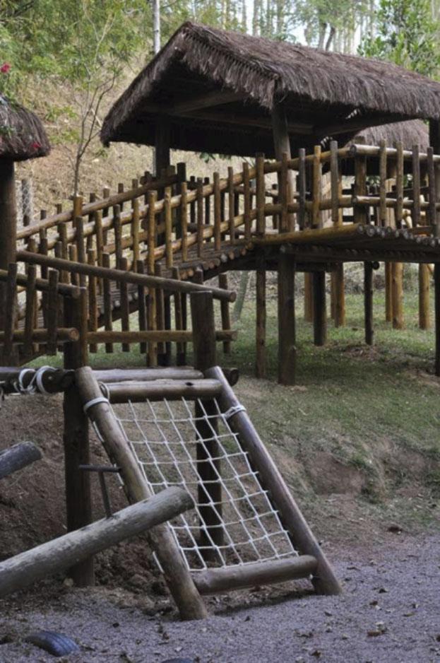 Restaurante Vila Paraíso oferece diversas atrações para crianças nos finais de semana